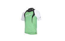 Alpinestars Drop Shortsleeve Tee shirt homme vert/blanc